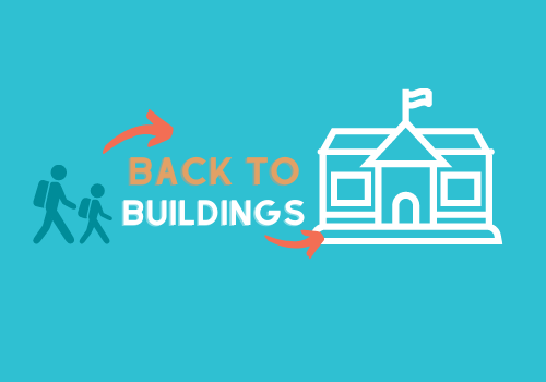 Back to Buildings Graphic