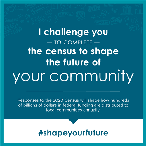 Take the 2020 Census - it matters!