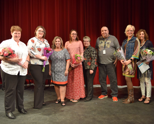 Springfield staff honored with district excellence awards