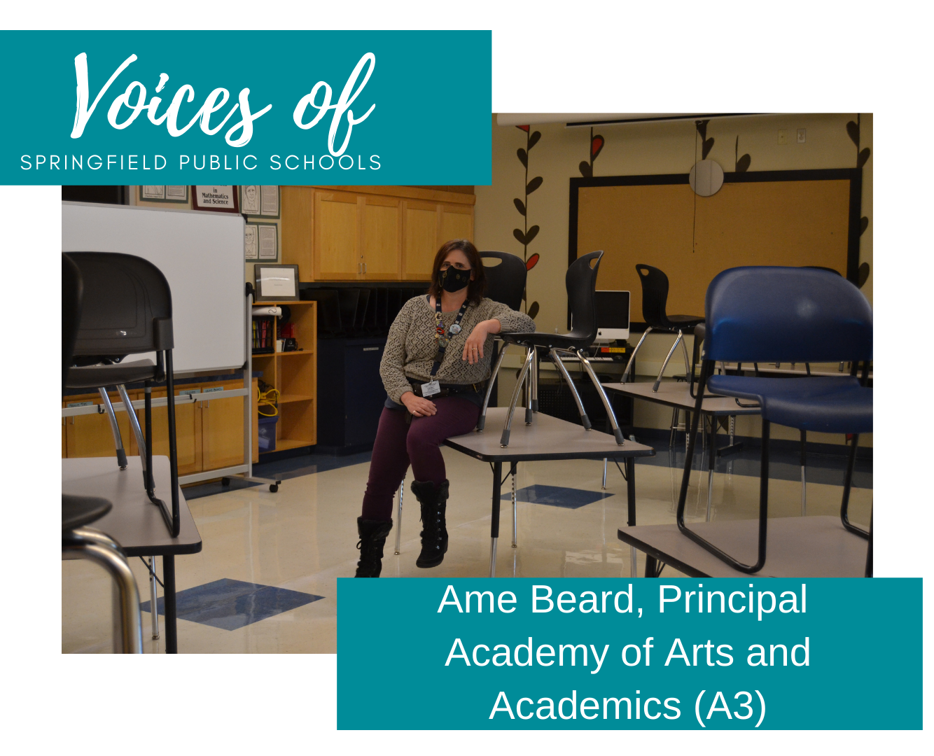 Ame Beard A3 Principal - Voices of SPS