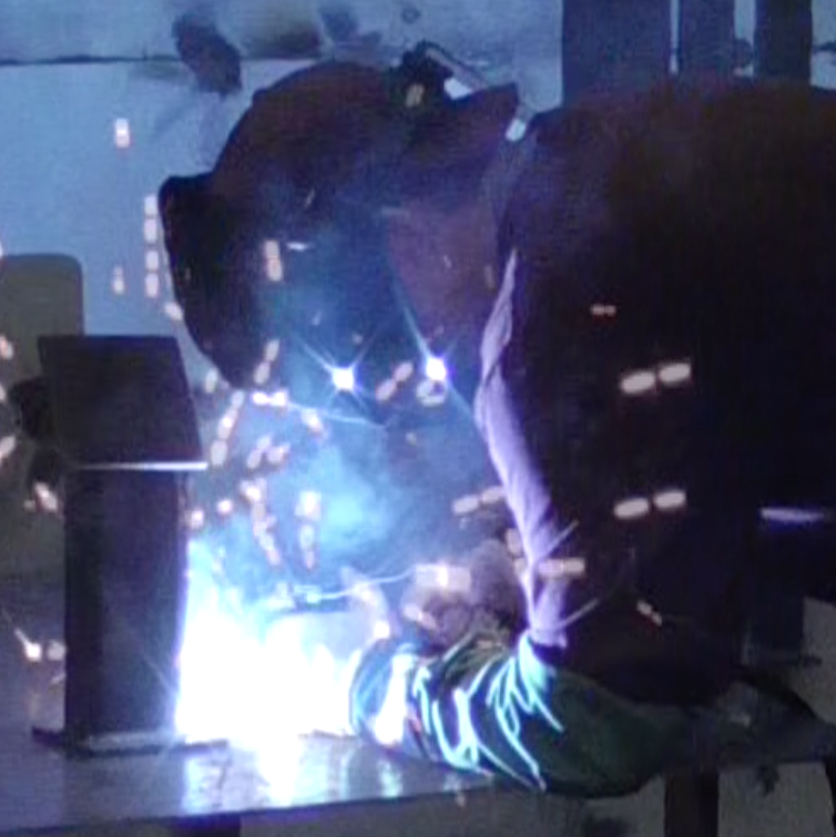 Brooklyn Reed welding