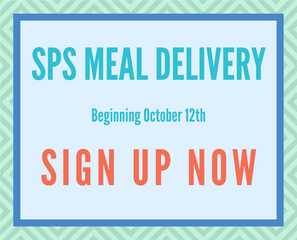 SPS meal service delivery - sign up!