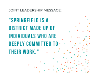 Joint Leadership Message to District