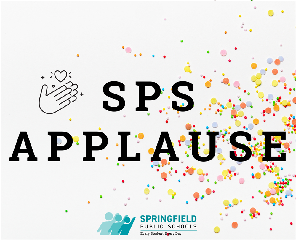 SPS Applause!