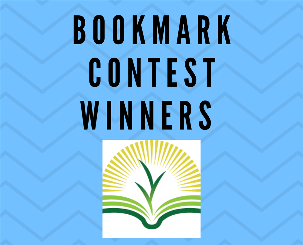 Congratulations, bookmark contest winners!