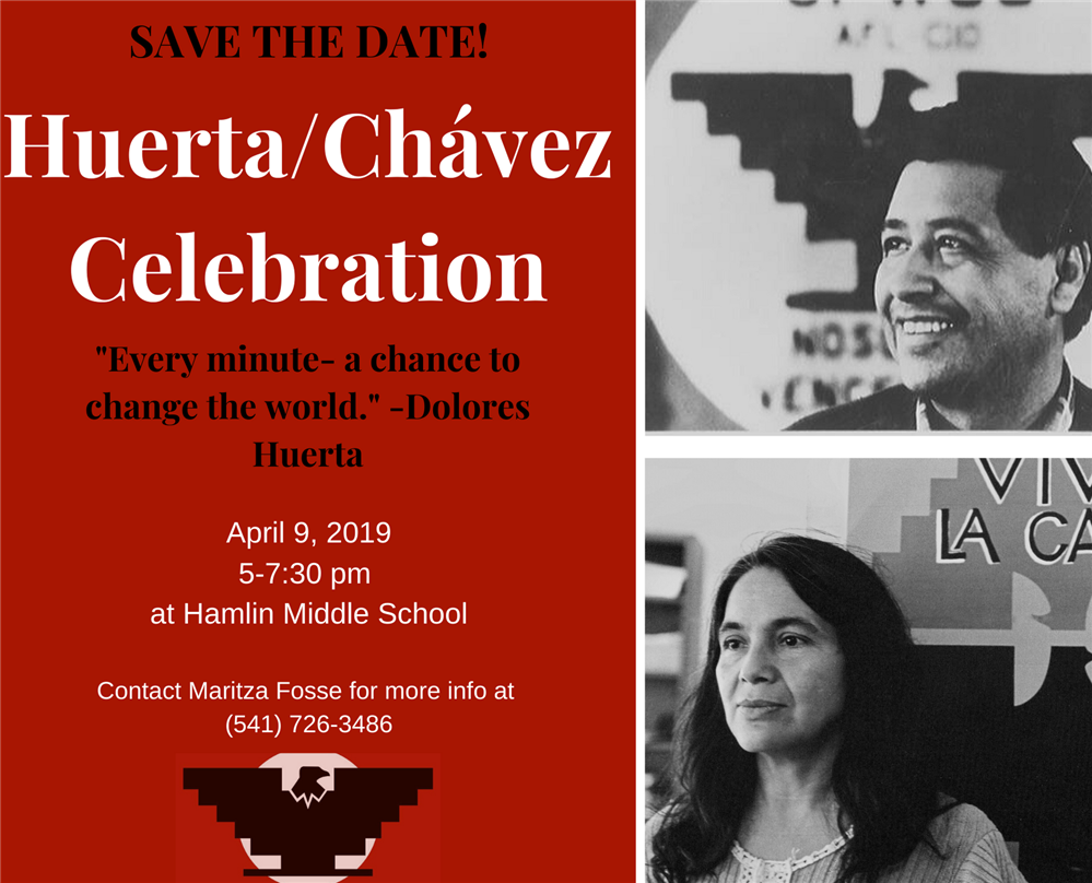 Save the date! Huerta/Chávez Celebration to take place in April