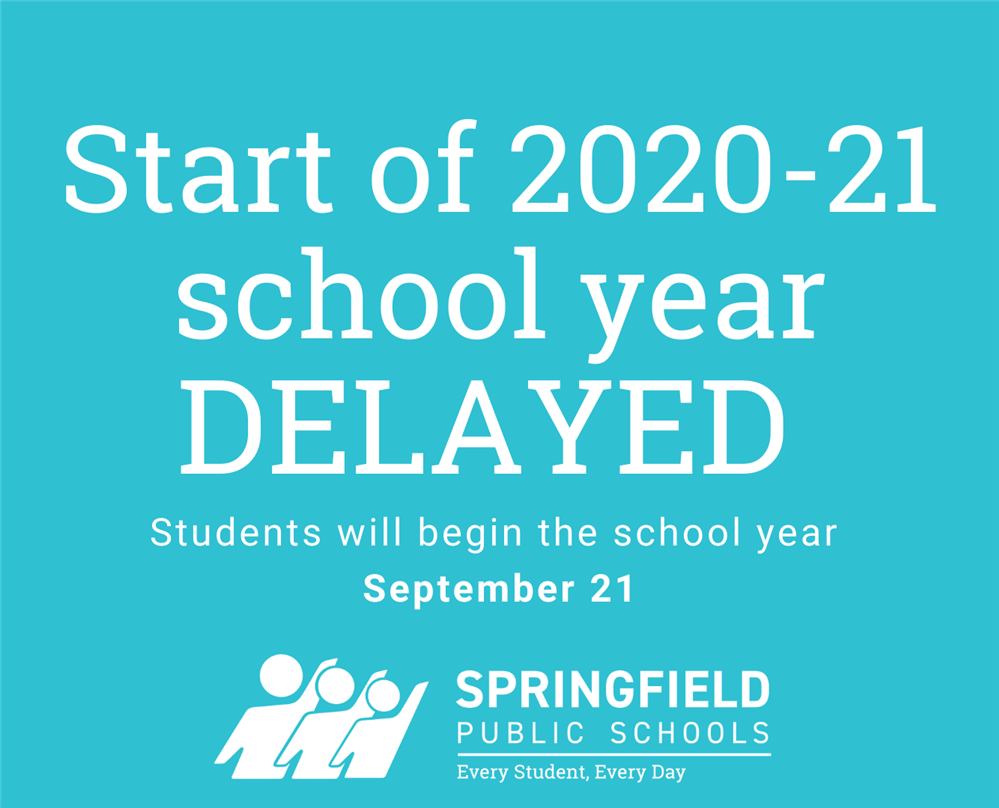 Important SPS Update: Start of school year delayed