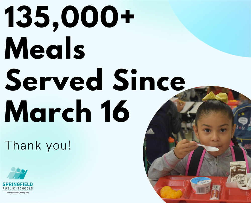 More than 135,000 meals served to SPS students