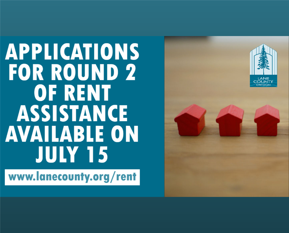 Lane County rental assistance: Round 2