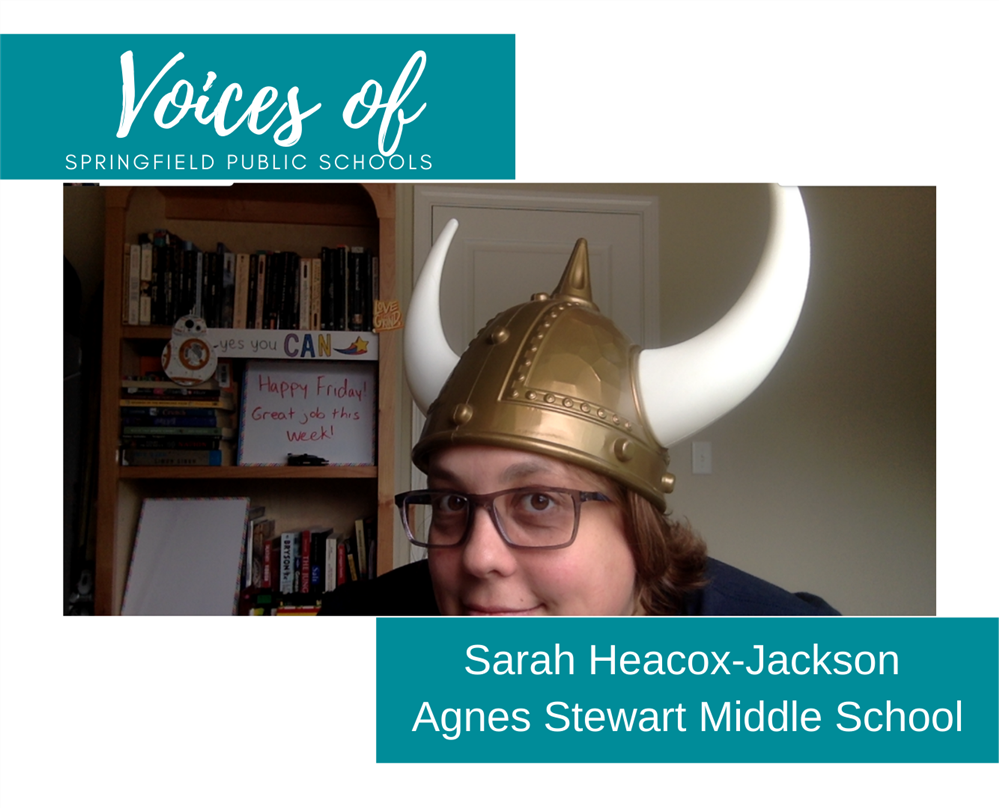 Voices of SPS: Sarah Heacox-Jackson