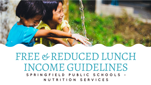 Free & Reduced Lunch Income Guidelines